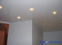 Дизайн прихожей с натяжным потолком