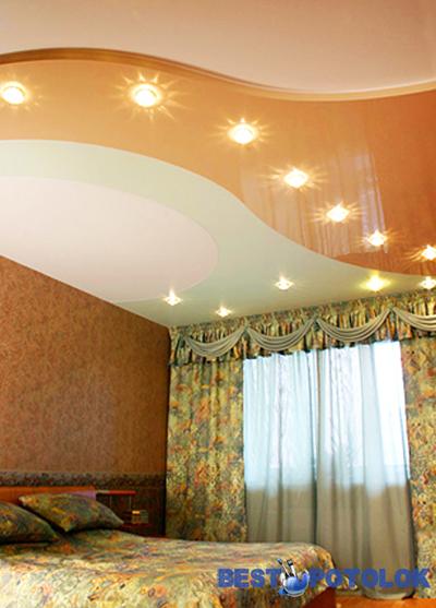 натяжные потолки фото спб